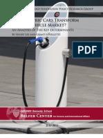 Harvard Study Electric Vehicles DP 2011 Web