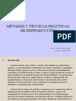 Métodos y Técnicas de reproducción