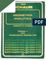 GEOMETRIA ANALITICA - SCHAUM