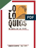 Amor para Julio C. Tello por Ignacio Campos + El japista que Julio C. Tello le entregó a Víctor Raúl por Víctor Tirado