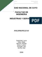 Industria Del Polipropileno