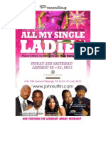 All My Single Ladies Sponsorship Proposal