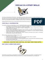 Study Skills - Introduction