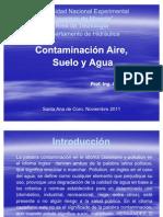 Contaminacion de Aire, Suelo y Agua