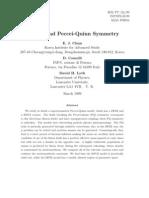 E. J. Chun, D. Comelli and David H. Lyth- Flatons and Peccei-Quinn Symmetry