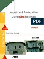 Concrete Repair & Restoration (Sika)