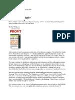 Selling Your Baby Profit Magazine