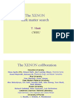 T. Shutt- The XENON dark matter search