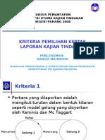 Kajian Tindakan 2008 BPPDP (1)