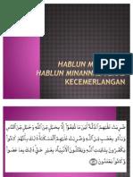 Hablum Minallah, Hablum