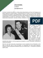 DESAGRAVIANDO A MARÍA ESTELA DE PERÓN