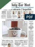 The Daily Tar Heel for January 25, 2012