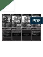 War Machine [Misc] Qs Stat Cards Protectorate - En