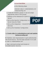 Configuring BI Publisher to Use Oracle BI Data