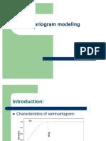 Variogram Modeling