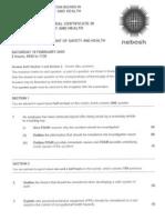 Past Paper 1 - IGC 19 Feb 05