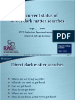 Nigel J. T. Smith- The current status of direct dark matter searches