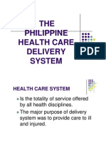 CHD1_chapterII_health Care Delivery System