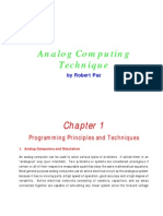 Analog Computer Manual