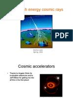 Donna Kubik- Ultra high energy cosmic rays