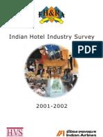 HVS - Indian Hotel Industry Survey 2001-2002