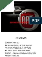 Tata Motors and FIAT Auto Final Ppt