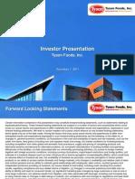 TSN Investor ion 12072011