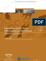 Evaluating Aid for Trade on the Ground - Lessons From Cambodia