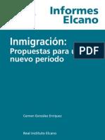 Inmigración. Propuestas para un Nuevo Periodo