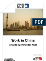 Work in China - A Guide by Knowledge Must
