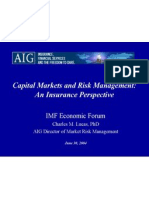 Capital Markets and Risk Management