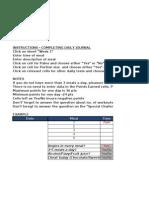 CFNM 30 Day Challenge - Journal
