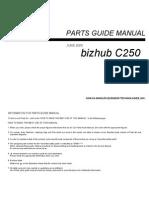 Bizhub C350 Parts border=