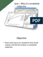 IIT Dam Analysis – Why it is subjective