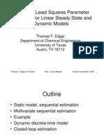 Edgar Recursive Estimation