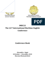 The 22nd International Maritime English Conference