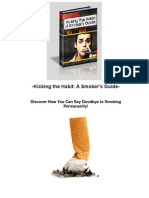 Kicking The Habit - A Smoker's Guide