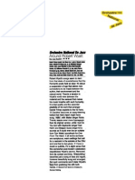 """Press Review of the album """"Around Robert Wyatt"""" by the French Jazz National Orchestra (BEE030)"""
