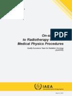Medical Physics Procedures