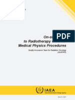 Medical Physics Procedures