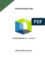 Praktikum Bank Mini