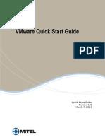 Vmw Vsphere Quick Start Guide Mitel Prairiefyre
