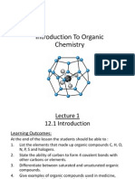 12 Intro to Organic