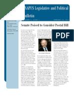 eNAPUS Legislative and Political Bulletin