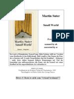Martin Suter - Small World
