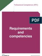 FinalAPCRequirementsandcompetenciesguideSeptember072[1]