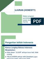 Kejujuran (Honesty)