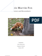 Jarvis Marvin FOX, Ancestors and Descendants