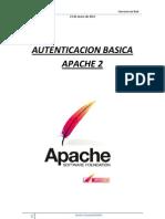 Configurar Atenticacion Basica en Apache