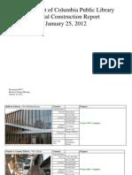 Document #10C.1- Capital Construction Report